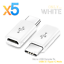 thumbnail 11 - 5X-Micro-USB-Female-to-USB-3-1-Type-C-Male-Converter-Data-Cable-OTG-Adapter