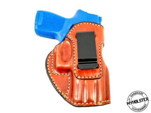 SIG Sauer P250 Compact  IWB Inside the Waistband Right Hand Leather Holster