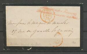1864-Env-Griffe-Ministere-des-finances-Directeur-General-des-Postes-X3035