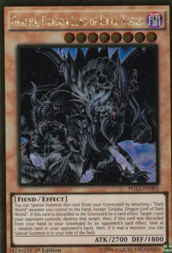 YuGiOh Grapha Dragon Lord of Dark World PGL2-EN083 ENGLISCH TCG AtzenJens