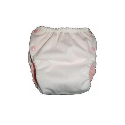 GAD PUL Pocket Diaper in Breezy Blue w//Mint Microfleece Green Acre Designs
