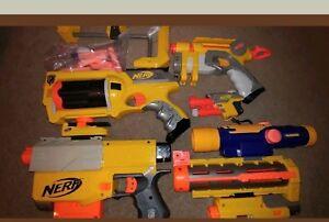 Image is loading Nerf-gun-lot