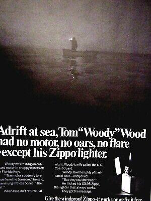 "1984 Zippo 1984 Olympics Lighter Original Print Ad 9 x11/"""