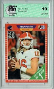 Trevor Lawrence 2021 Pro Set #PS1 #1 Pick Rookie Card PGI 10