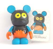 Disney Parks Orange Black Gear Vinylmation Urban Series #3 w/ card