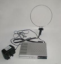 Durabrand DVB-T Digital Set Top Box Y Antena Interior Uhf Extensible Ariel/