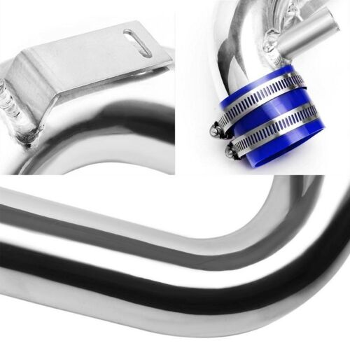 Cold Air Intake Kit Polish Pipe//Blue Filter For Scion 04-06 xA//xB Base 1.5L DOHC