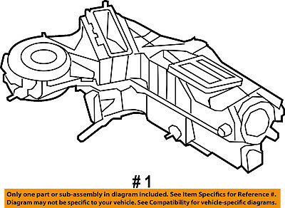 OEM MOTORCRAFT GENUINE A//C AC CONDENSER 08-10 Ford F-250 Super Duty 6.4L-V8