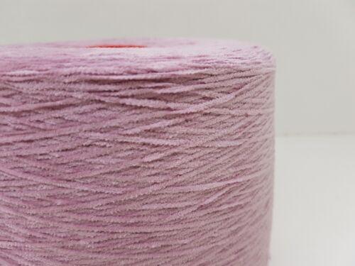Lana natural Garn tejer tejer /& handstrickenChenille baumwo violeta 1kgcf67