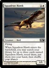 SQUADRON HAWK M11 Magic 2011 MTG White Creature — Bird Com