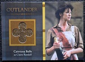 Cryptozoic-Outlander-Season-1-VARIANT-Trousers-M37-Includes-Binder-Trading-Card