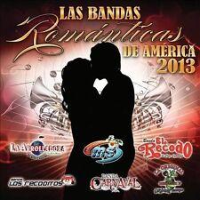 Bandas Romanticas de America 2013 by Various Artists (CD, Jan-2013, Disa) NEW
