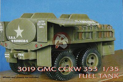 CMK 1/35 GMC CCKW-353 Fuel Tank Conversion Set with Decals (for Tamiya) 3019