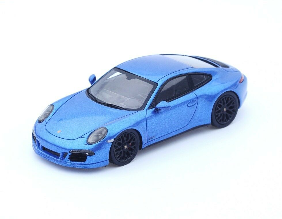 Porsche 911 991 GTS bluee bluee bluee S4938 Spark 1 43 New in a box  f58d88