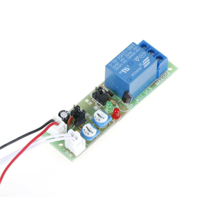 DC12V Adjustable Infinite Cycle Loop Delay Timer Time Relay Switch on