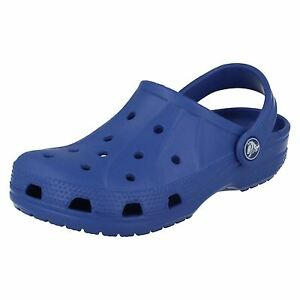 fb67976bd1d82b Image is loading CHILDS-CROCS-CLOGS-SEA-BLUE-STYLE-FEAT-K-