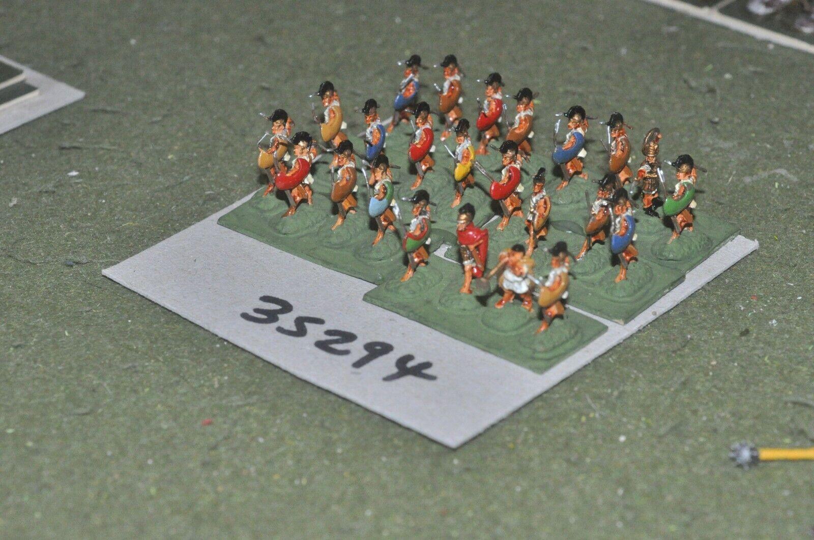 15mm classical   greek - peltasts 24 figures - inf (35294)