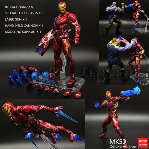 S.H Figuarts SHF Iron Man Mark 50 Mark46 Mark 47 Action Figure MK50 NIB
