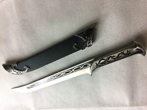 Lotr Lord Of The Rings Hobbit Thranduil Elven King Dagger Sword Ebay