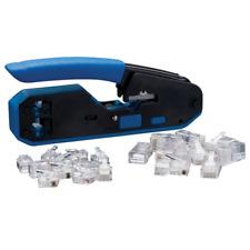 Ideal 33 396 Datavoice Modular Plug Crimp Tool Kit