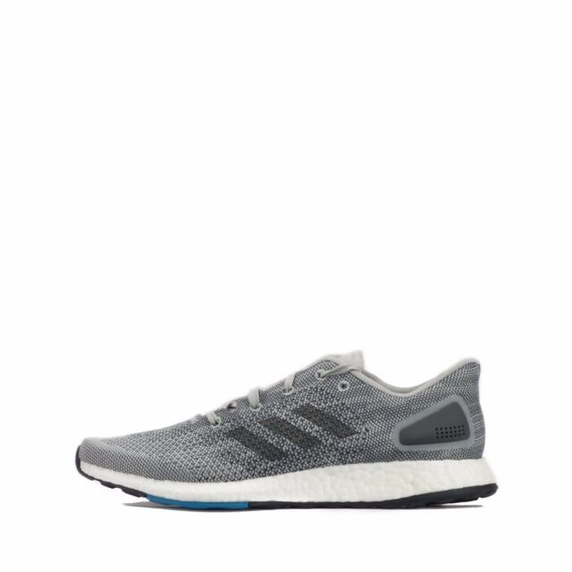 97795cde748e9 adidas Pureboost DPR Grey Black White Men Running Shoes SNEAKERS ...