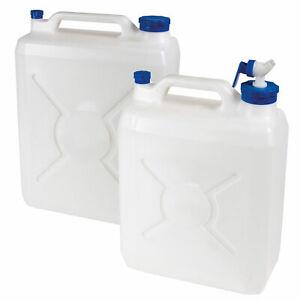 Hahn Camping faltbar Wasserkanister 10L 20L Kanister Behälter Wasser Kanister m