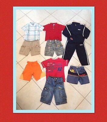 Lotto 6-abbigliamento Bambino 3/4 Anni Estate 10 Pezzi