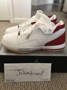 1ab11294a8ac Image is loading Air-Jordan-16-XVI-Low-Red-white-136069-