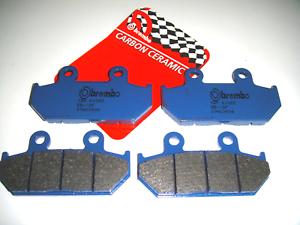 4 Front Brake Pads BREMBO 07HO3509 Honda 1.500 Gl Aspencade, Se 1994