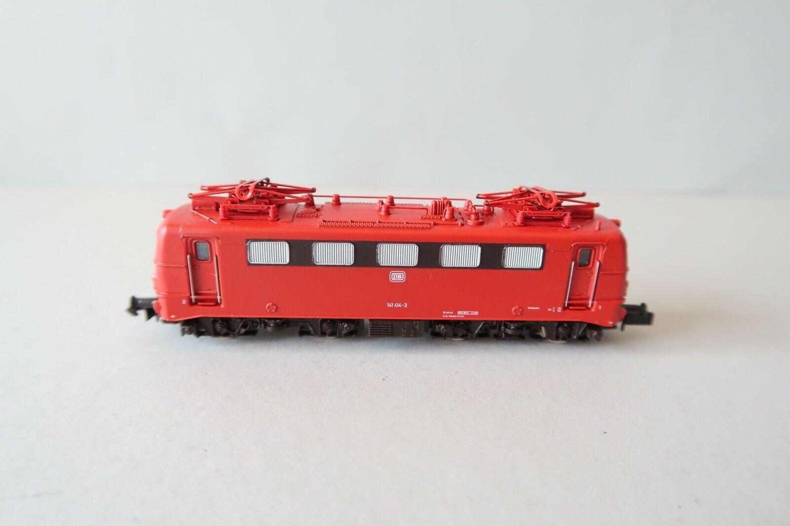 Fleischmann n 7327 e-Lok br 141 414-3 DB  orientrojo  (dw145-48s4 2)