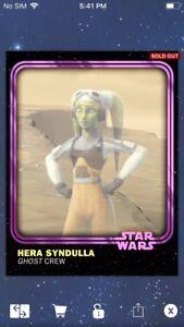 Topps-Star-Wars-Digital-Card-Trader-Pink-Hera-Syndulla-2018-Anniversary-Insert