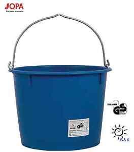 Baueimer 20l blau Kranbar 1102027 Profi-line