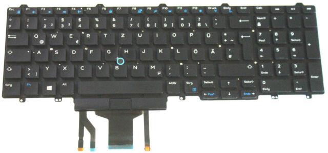 Dell Latitude 5580 Keyboard, German, LED Lit Backlit