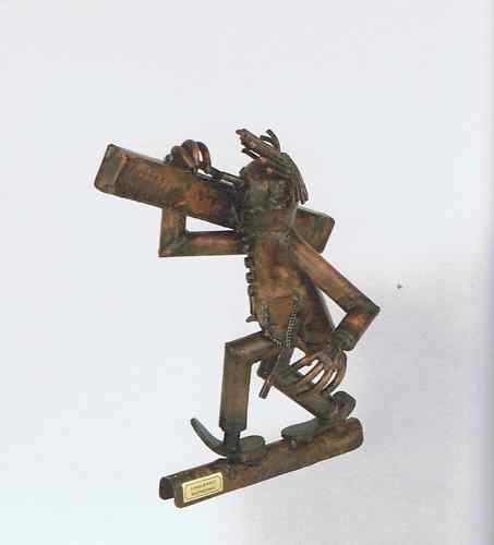 Gouttières personnage dachdeko zimmermann cuivre d/'ornements de toit cuivre personnage gouttière NEUF