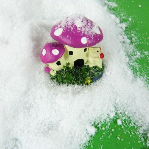 Imitación de nieve 50g Reutilizables Navidad Arte Arte Niños Regalos Decoración