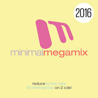 CD Minimal Megamix 2016 von Various Artists  2CDs