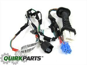 dodge ram 1500 2500 rear door wiring harness right or left side oem rh ebay com 2004 dodge ram wiring harness diagram 2004 dodge ram wiring harness