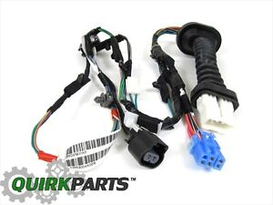 s l300 dodge ram 1500 2500 rear door wiring harness right or left side Dodge Transmission Wiring Harness at eliteediting.co