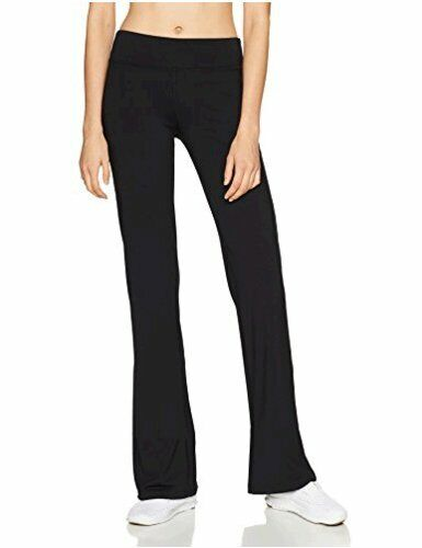 Starter Women's Yoga Pants, Amazon Exclusive, Black, Medium, Black, Size Medium