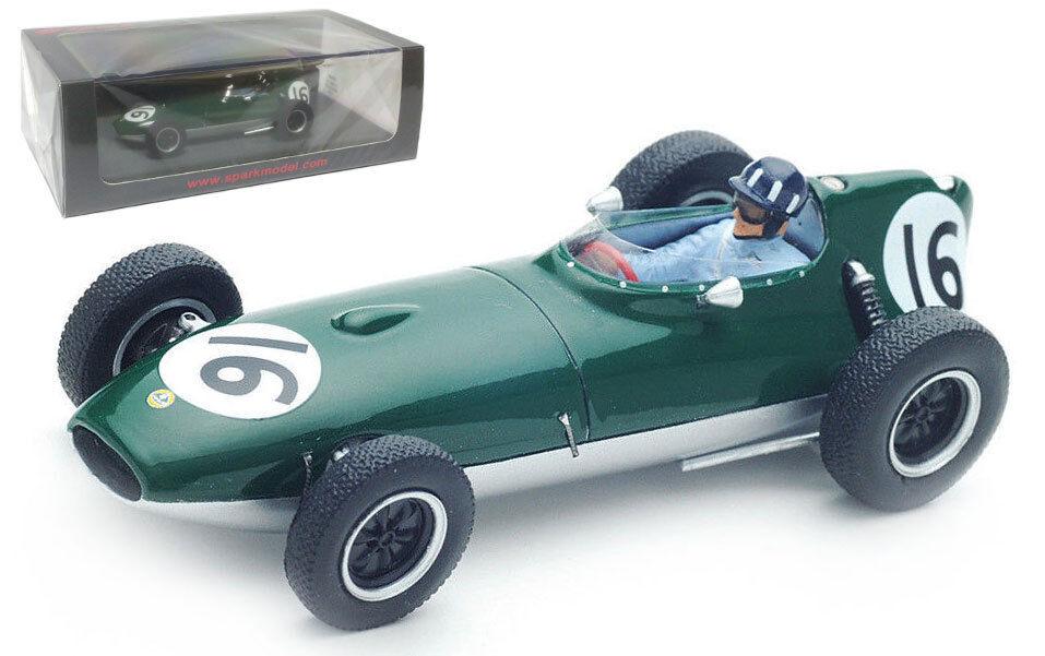 SPARK S5340 Lotus 16  16 British GP  1958-Graham Hill 1 43 Scale  marchandise de haute qualité et service pratique et honnête