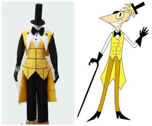 Details about Gravity Falls Bill Cipher Human Suit Cosplay Costume Custom  Made