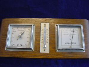 Lufft-Barometer-Hygrometer-Wetterstation-Thermometer