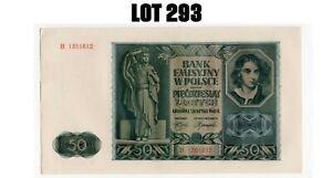 POLAND - POLEN 50 ZLOTYCH 1941 SUP P.102