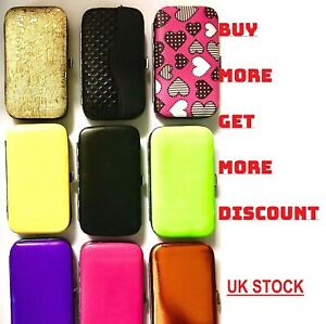 New-7pcs-Manicure-Set-Nail-Care-Clippers-Travel-Grooming-Kits-Printed-Gift-Case