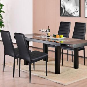 Détails sur Chaises de salle à manger séjour salle restaurant salon cuisine  moderne design