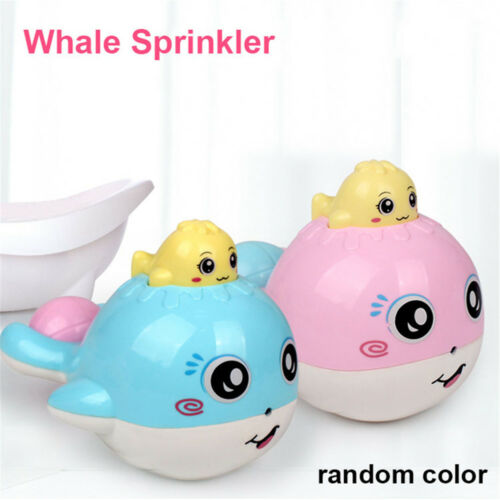 Squirt Watering Drop Pot Elephant Sprinkler Baby Bath Toy Shower Whale Spraying