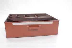 Age-Metalschubladen-Schieber-Metal-Drawer-For-Joiner-039-s-Bench-Work-Bench-Workshop