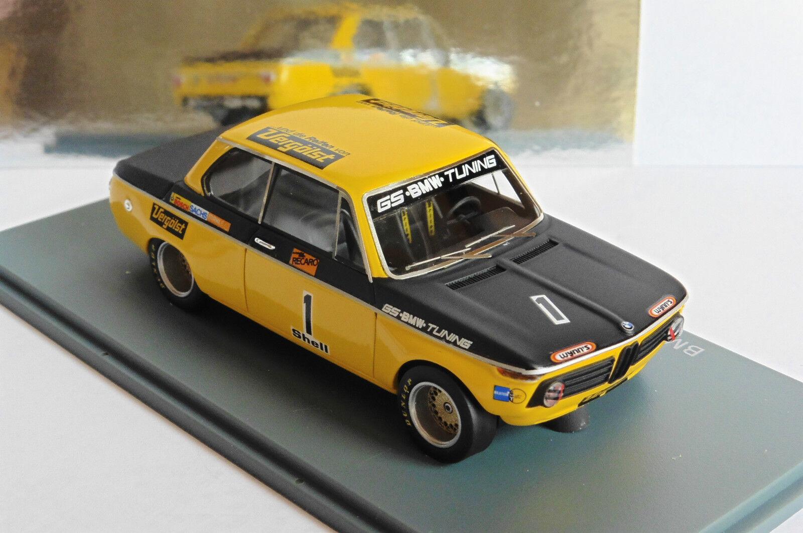 BMW 2002 GS TUNING DRM 1972 NEO 45445 45445 45445 1 43 yellow BASCHE DEUTSCHE yellow YELLOW ecbc97