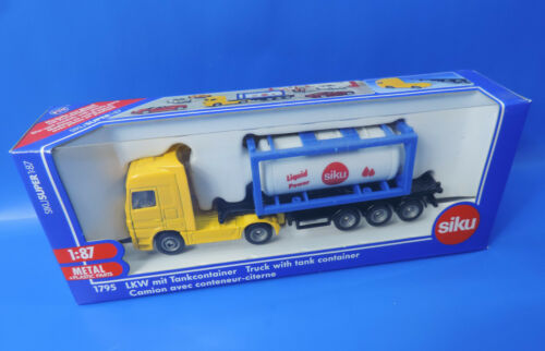 SIKU 1795 1:87  Super  LKW mit Tankcontainer