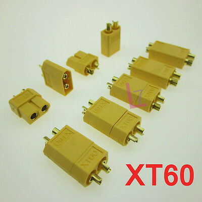 XT30 XT60 XT90 Power Connector Plug Socket For Quadcopter Mini RC Hobby LiPo
